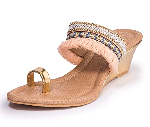 8861f88257733 Khadims Women Ethnic Heel Sandal  Buy Online at Low Prices in India ...