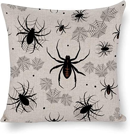 DKISEE Halloween Pillow Cover, Hand
