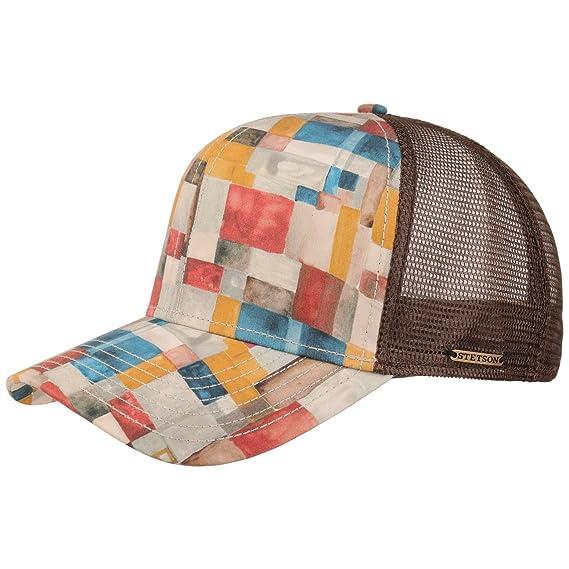 Stetson Watercolours Cotton Trucker Cap Baseball mesh (One Size - Mixed  Colours) 604eb91fc466