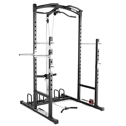 2ff5b83a223d5 Amazon.com   Marcy Home Gym Cage System Workout Station for ...
