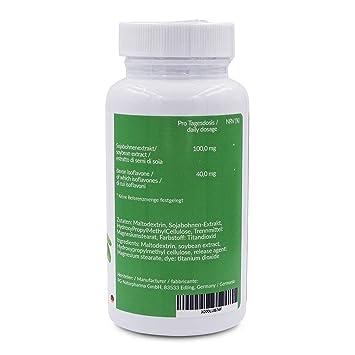 Isoflavonas de soja, 90 capsulas - síntomas de la menopausia, suplementos menopausia, Bochornos - Cambios de humor - Sudor