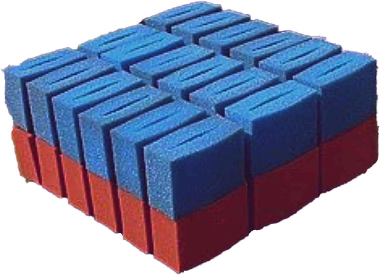 OASE 36x Ersatz Filter Schwamm f/ür OASE BioTec 36 Screenmatic Ersatzteile Durchlauffilter Wasserkl/ärer Set 18x Blau 18x Rot Koi Teich Ersatzschw/ämme