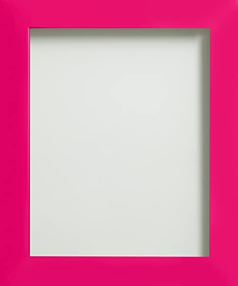Frame Company Candy Range A4 Plastic Picture Photo Frame, Hot Pink ...