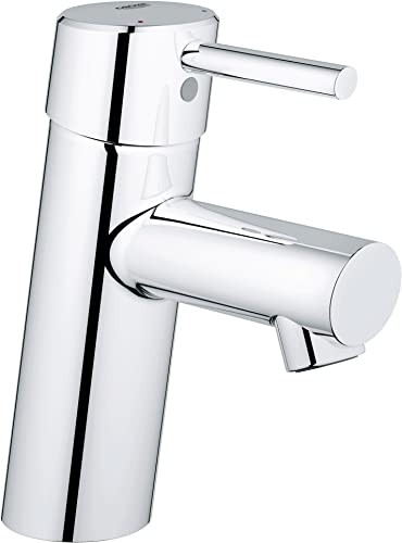 Concetto S-Size Single-Handle Single-Hole Bathroom Faucet Without Pop-Up – 1.2 GPM