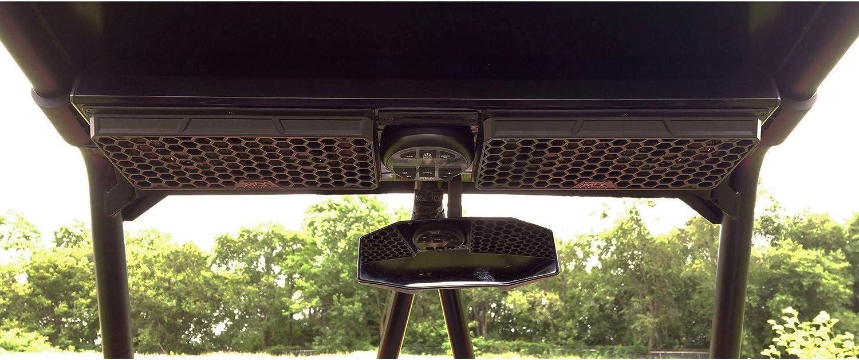 MTX Audio MUDSYS31 Bluetooth Overhead Utv Audio System