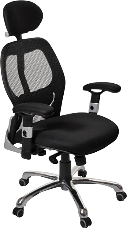Office Furniture Online Ergo Tek Mesh Manager Chair Black Amazon Co Uk Kitchen Home