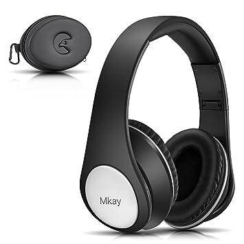 d8c4e033dd Bluetooth ヘッドホン MKayワイヤレスヘッドフォン 密閉型 高音質 Bluetooth V4.2 25時間音楽