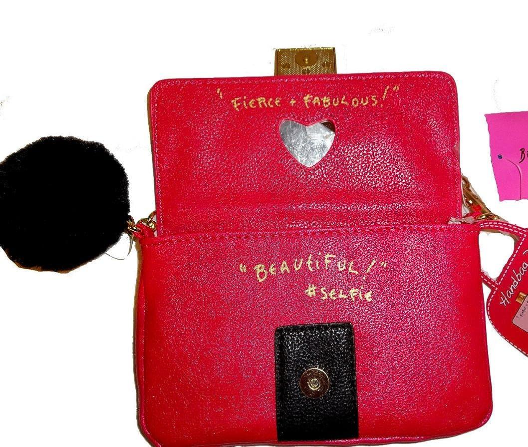 Amazon.com: Betsey Johnson Baguette Fierce and Fabulous ...