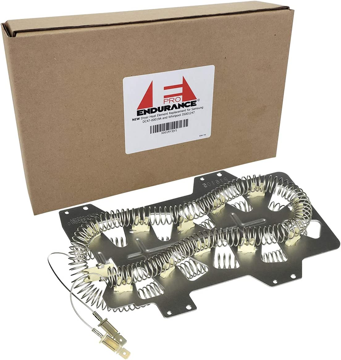 Endurance Pro Dryer Heat Element Replacement for Samsung DC47-00019A and Whirlpool 35001247