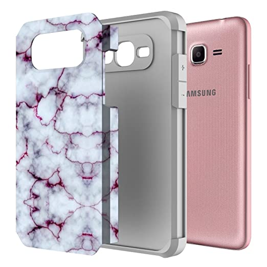 Amazon.com: J2 Prime Case, Galaxy Grand Prime Case, Rosebono Hybrid Dual Layer Shockproof Hard Cover Graphic Fashion Colorful Silicone Case for Samsung ...