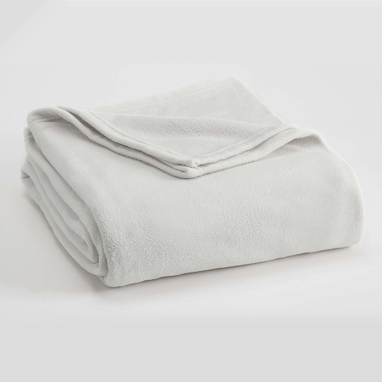 Vellux Microfleece Blanket, King, Star White