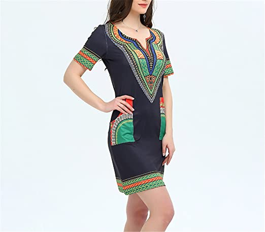 Amazon.com: Eloise Isabel Fashion dress vestidos femme mini vintage boho hippie plus size mulheres roupas casuais: Clothing