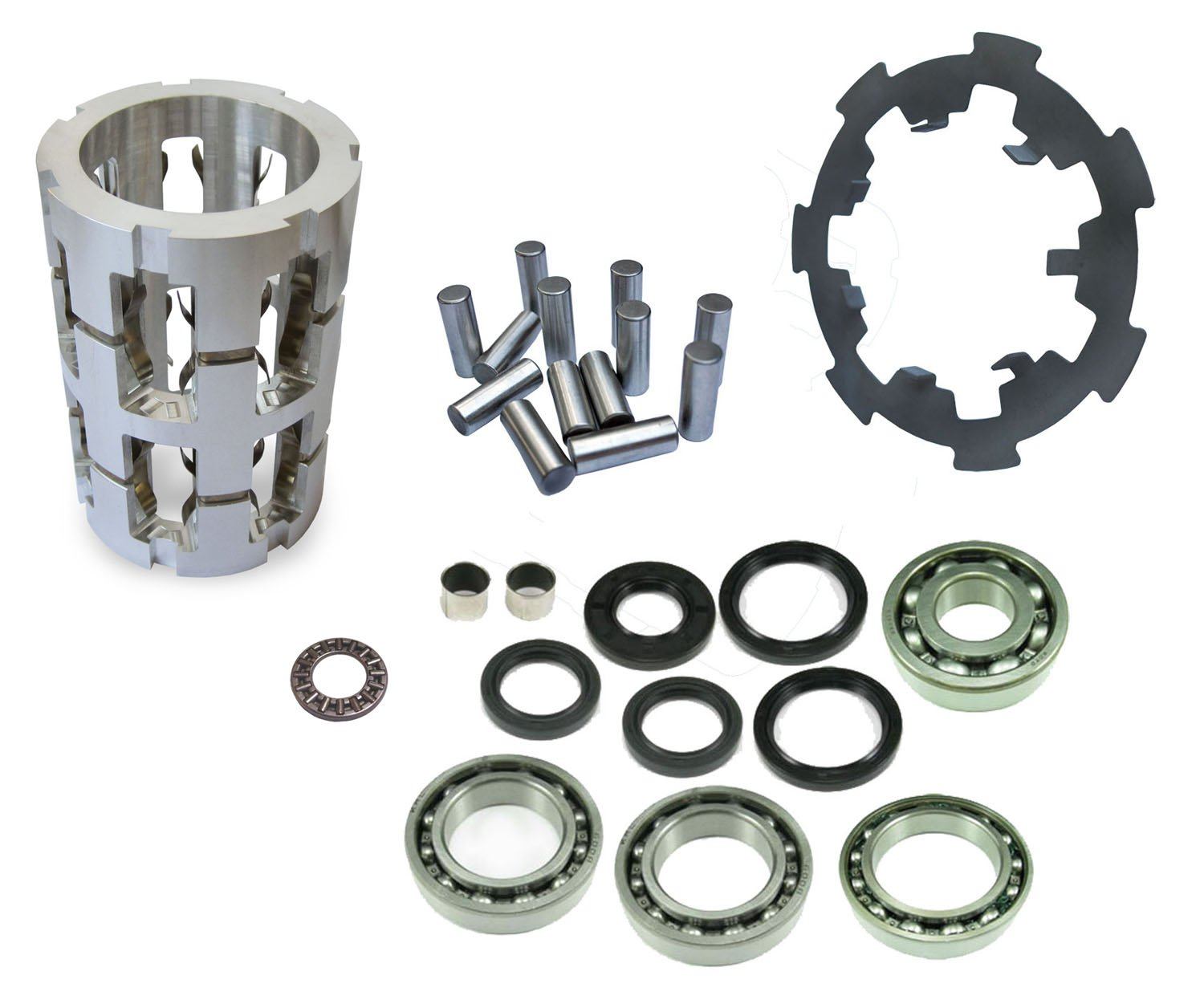 Polaris Sportsman 400 500 (2004-06) Front Differential Rebuild Kit - ALUMINUM CAGE