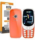 Custodia per il Nuovo Nokia 3310, FlexiCase Orzly per il Nuovo Modello del Nokia 3310 (Versione 2017) - Cover Protettiva TRASPARENTE [Sottile] Morbida, Flessibile & Resistente [Anti-Graffio] per il Nuovo Nokia 3310 [Reinventato]