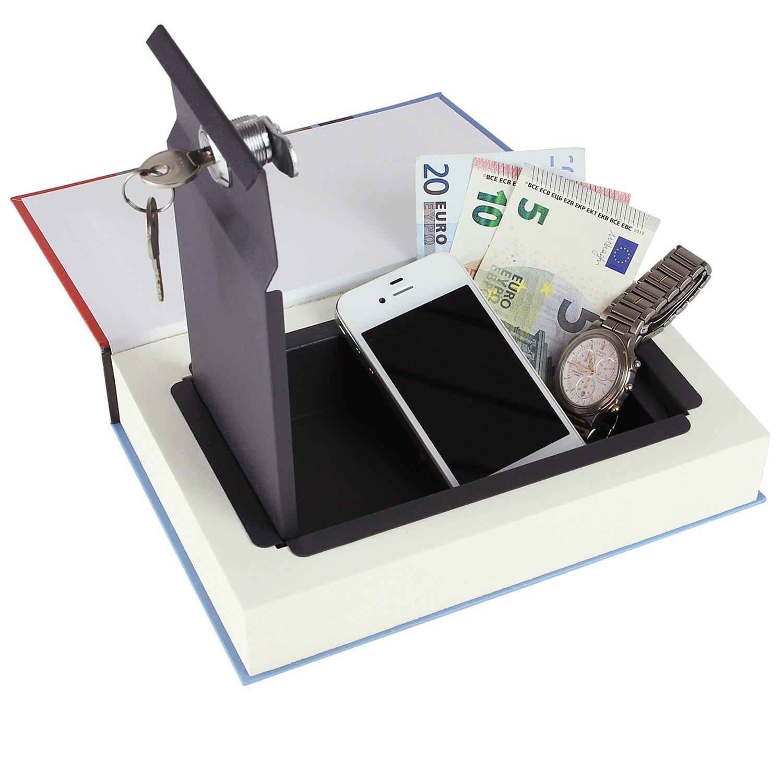 Cassetta portavalori Vere Pagine,Cookbook 26,5 x 19 x 4,2 cm HMF 81001 Libro Portavalori