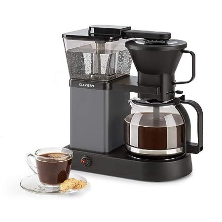 Klarstein GrandeGusto Máquina de café con jarra - Máquina de café con filtro , Cafetera , 1690 W , Depósito de 1,3 litros , Hasta 10 tazas , Calienta ...