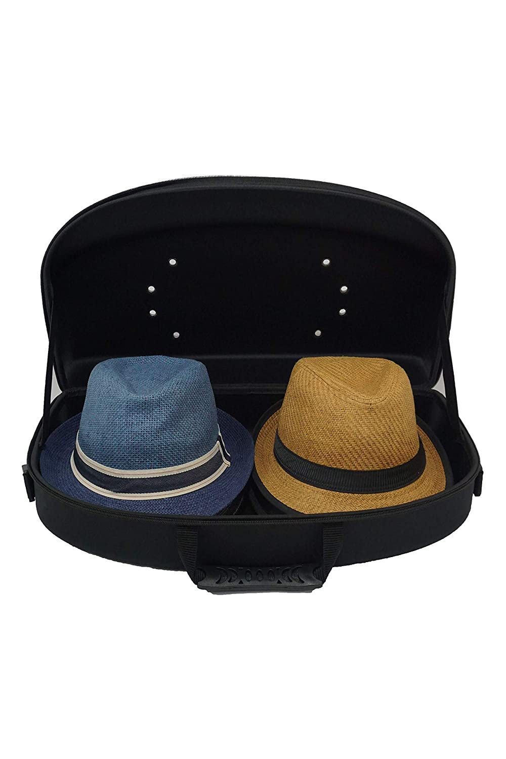 9c6b219bc9dde Amazon.com  Hat Carrier Cap Case Organizer for Travel and Storage for  Baseball Cap and Fedora Style Hats  Joshmin