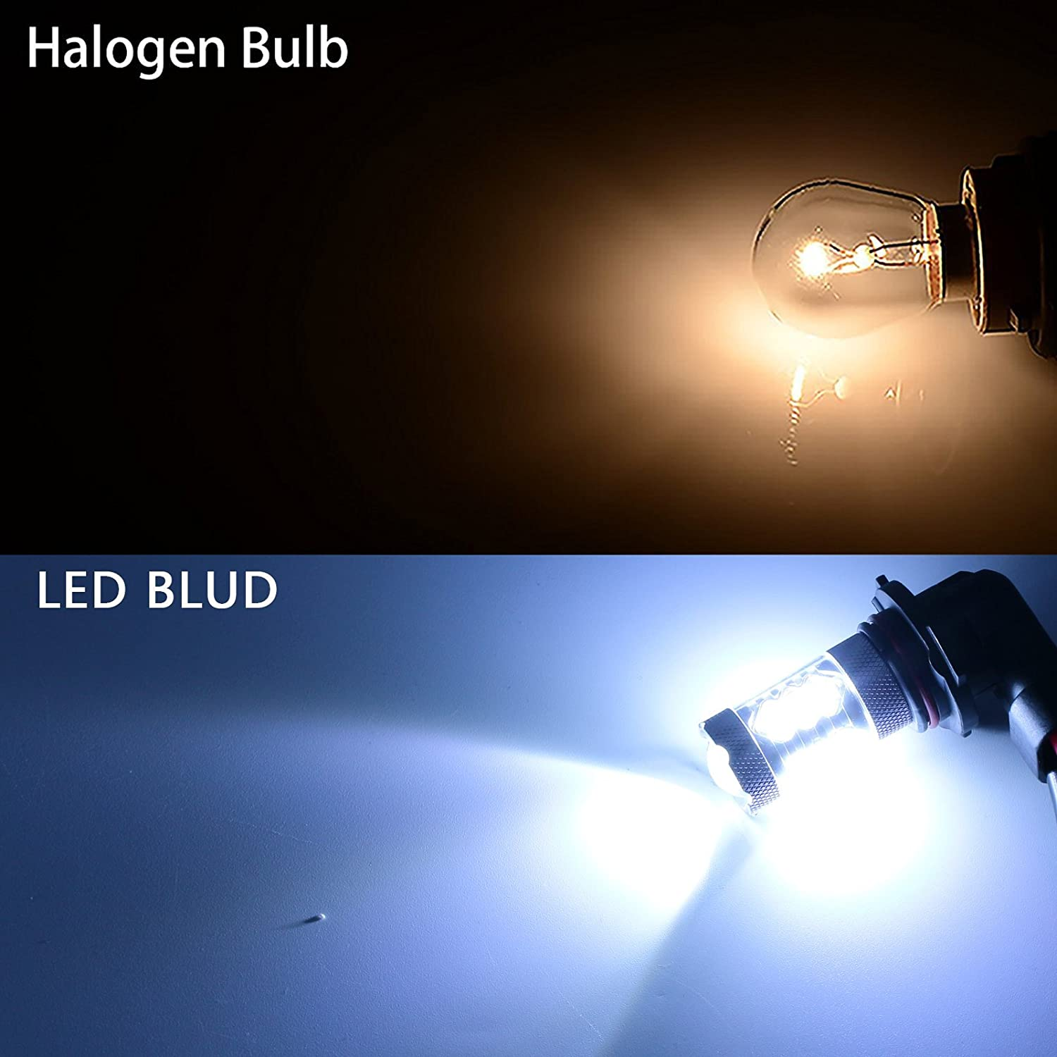 HB3 501 55w ICE Blue HID Xenon Upgrade Low//LED Trade Side Light Bulbs Kit