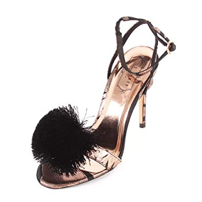 a70325c2b Ted Baker Women s Elynie Fabric High Heel Black Kirsten Bosch  Jacquard-Black-3