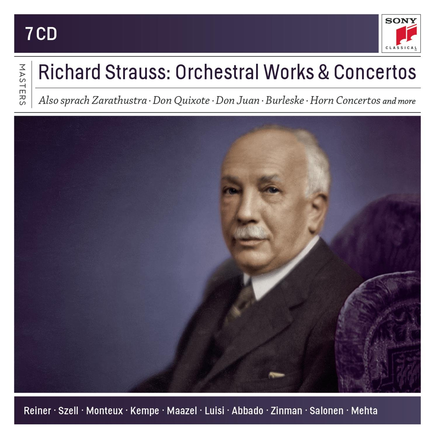 Richard Strauss: Orchestral Works An D Concertos by Sony Music Canada Inc.