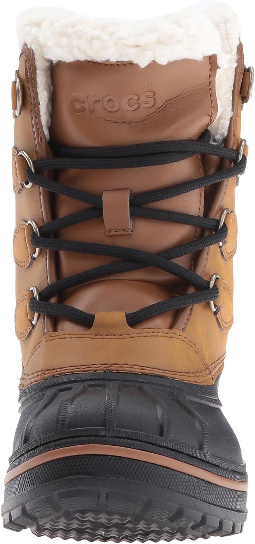 Crocs Allcast2btw, Sneaker A Collo Alto Donna Beige Wheat