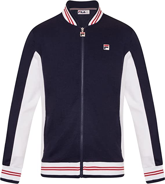 38cf9f73 Fila Vintage Settanta Track Jacket | Peacoat at Amazon Men's ...