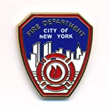 Fire Department New York FDNY Firefighter Badge Emblem Pin Badge 0088
