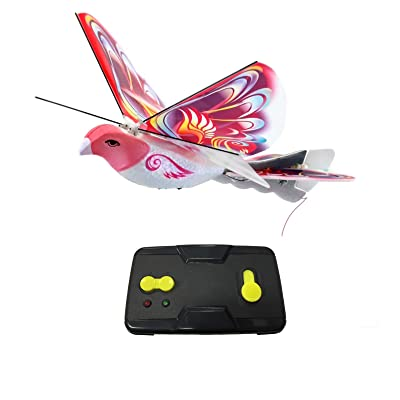 MukikiM eBird Pink Butterfly - 2016 Creative Child Preferred Choice Award Winning Flying RC Toy - Remote Control Bionic Bird (Newest 2.4GHz Version Featuring USB Charging): Toys & Games