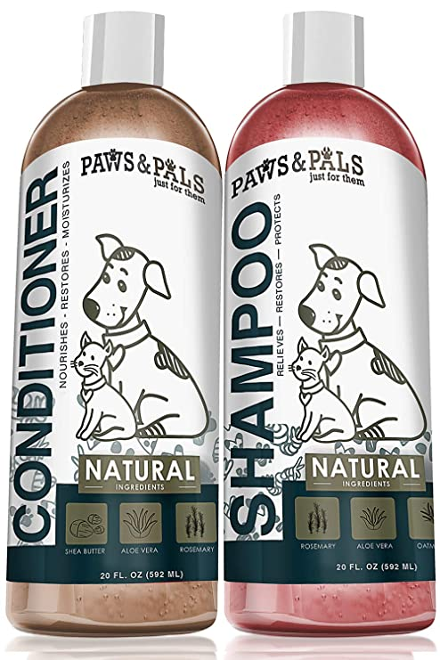 Image result for 2.   Paws and Pals Natural-Dog Shampoo and Conditioner