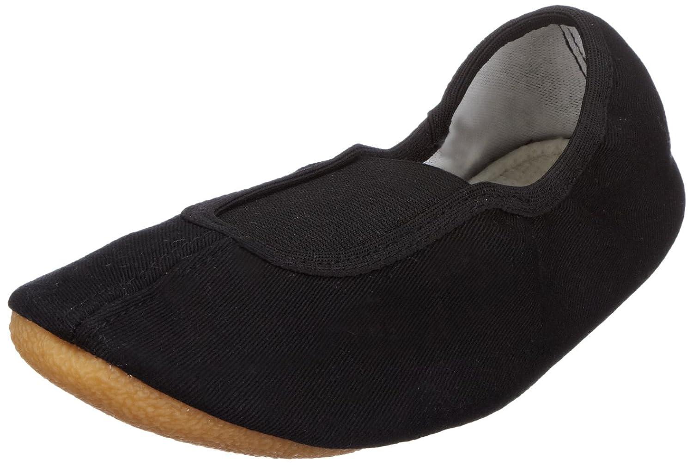 Beck Basic weiss, schwarz 025 - Zapatillas de gimnasia de tela unisex, color blanco, talla 42