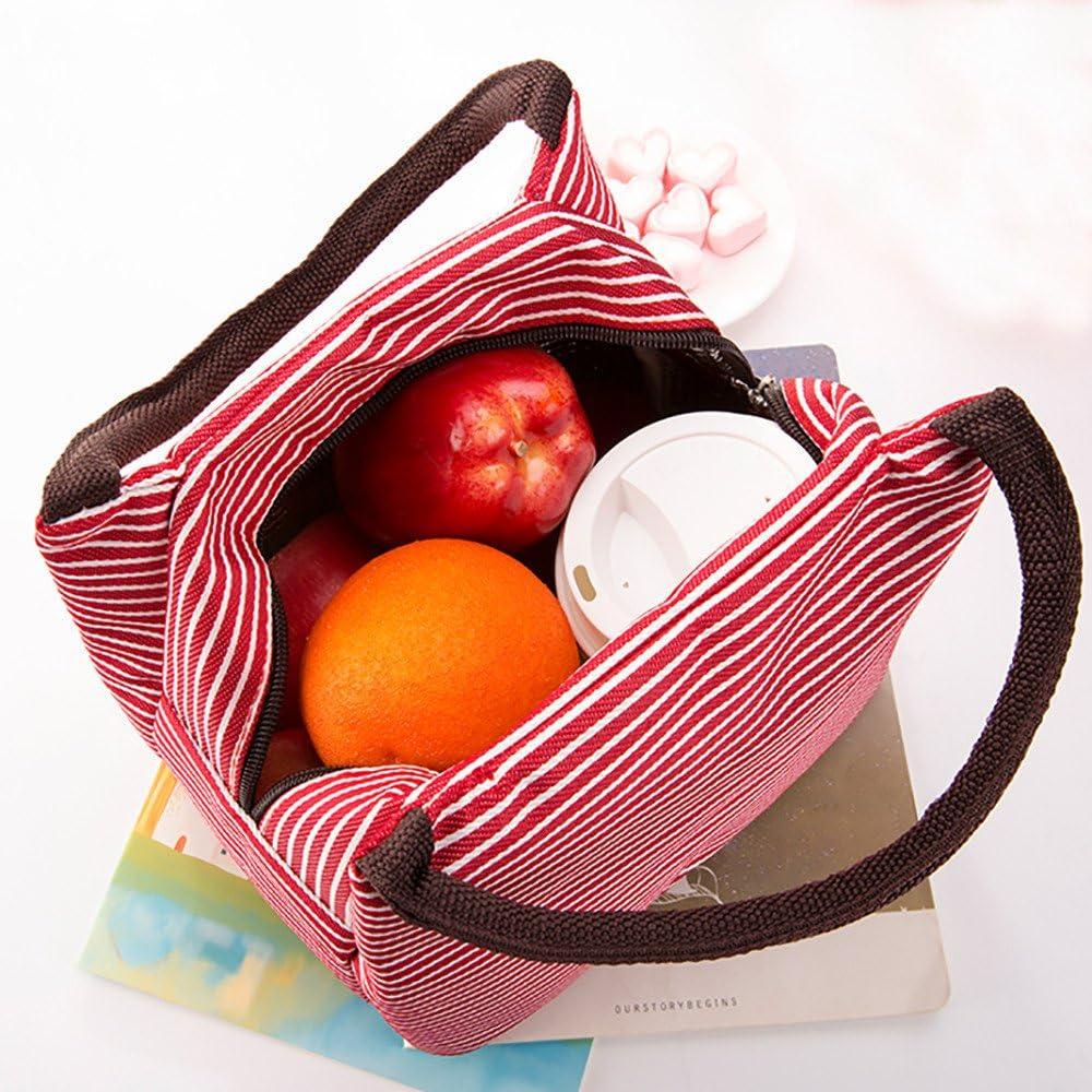 TEBAISE Lunch Taschen Lunchtasche K/ühltasche Lunch Tasche Thermotasche Isoliertasche Mittagessen Tasche f/ür Kinder M/ädchen Frauen Lunch-Taschen