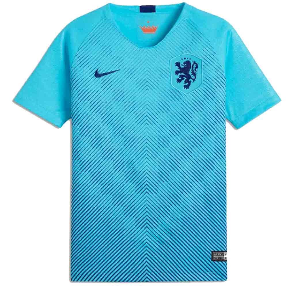 Nike Knvb Y Nk Brt Stad Jsy Ss Aw - polarized Blau deep royal Blau