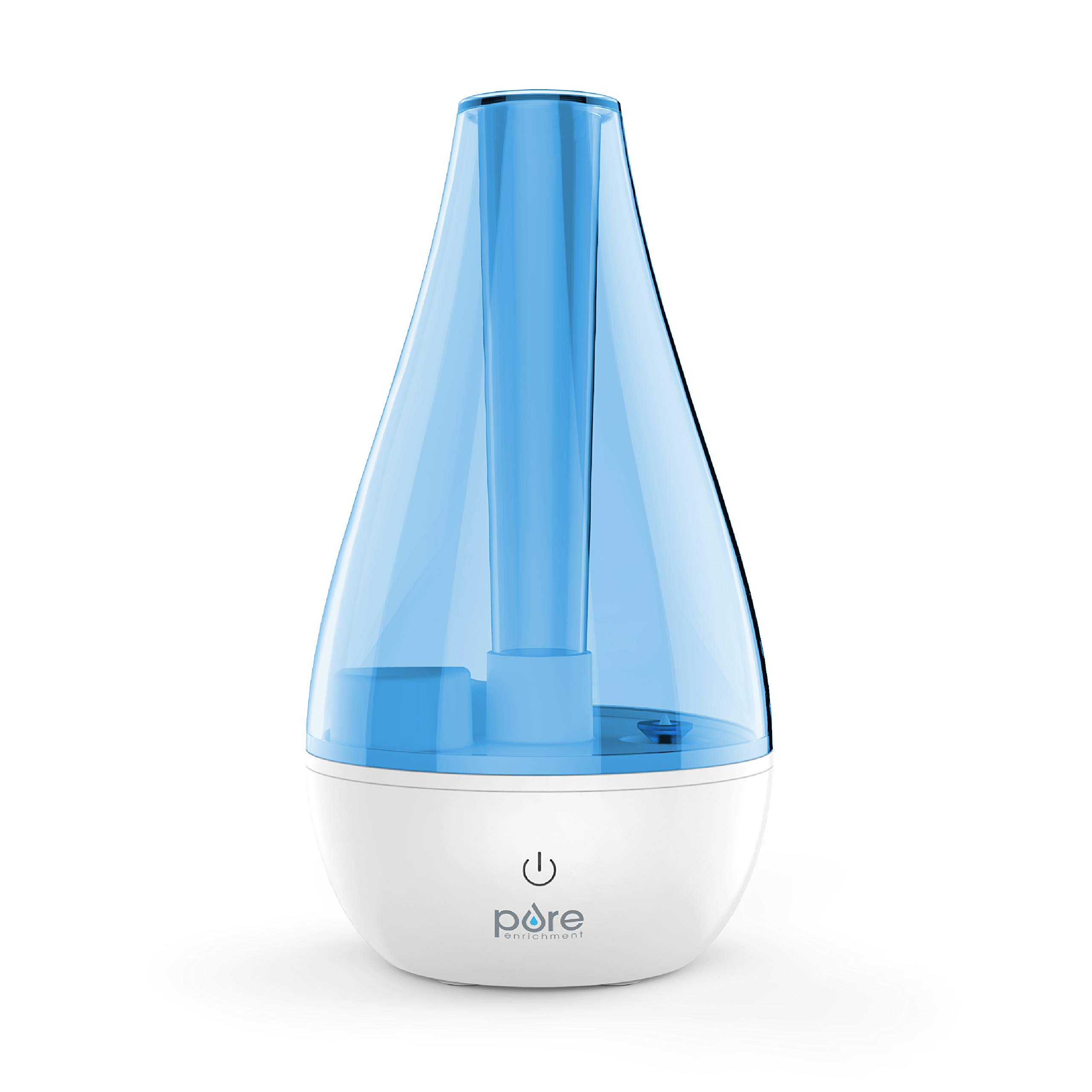 Pure Enrichment MistAire Studio Ultrasonic Cool Mist Humidifier for Small Rooms - Portable Humidifying Unit Ideal for Office with High and Low Mist Settings, Optional Night Light and Auto Shut-Off