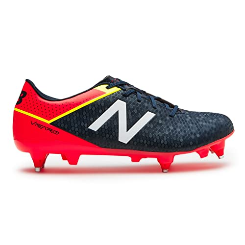 9fe42f3d887 New Balance Visaro Control SG Football Boots - Size 8.5 Red  Amazon ...