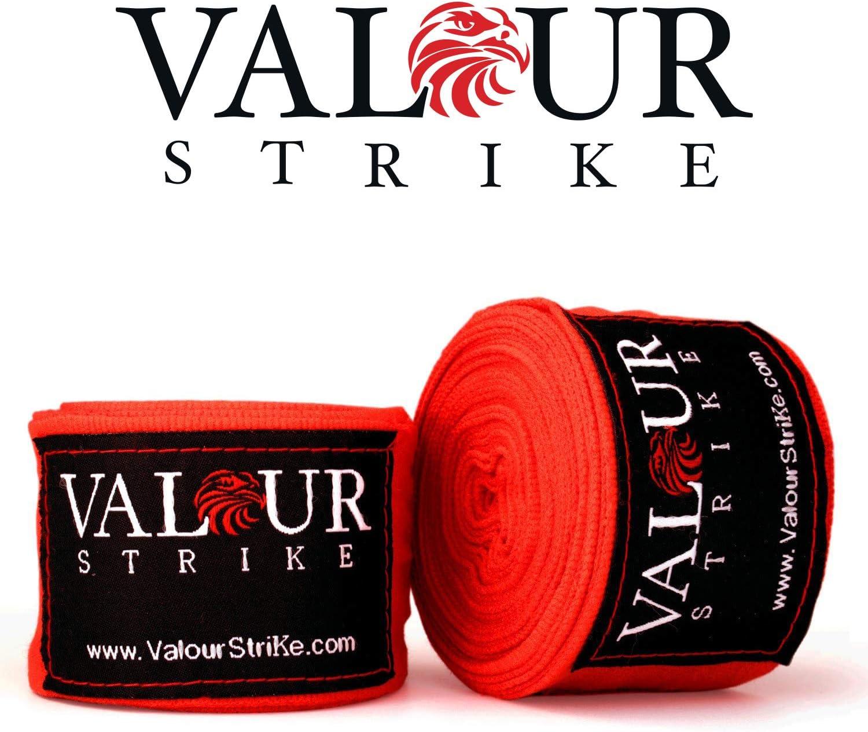 Valour Strike - Vendas elásticas para boxeo, Muay Thai Pro Blood ...