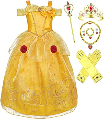 Disney Store Belle Princess Party Dress Holiday Beauty Beast Costume SOLD OUT