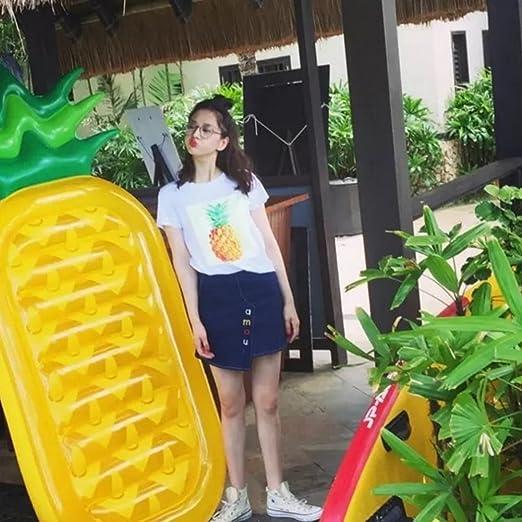LWH-Go Verano Al Aire Libre Usted Yongchi Aireado Piña Flotador Válvula De Drenaje Adulto Niño: Amazon.es: Juguetes y juegos
