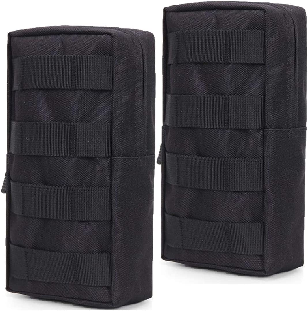 HOANAN 2 Pack Molle Pouch Tactical EDC Pouch Admin Organizer Gadget Gear Pouch for Military Backpack 71qzEmRo-uL