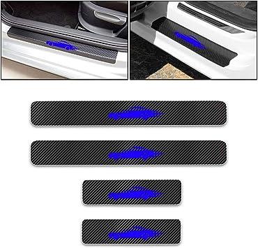 For Peugeot 2008 Car Side Door Edge Guard Bumper Trim Protector Stickers 4pcs