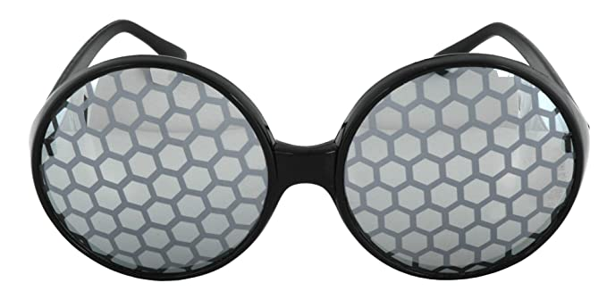 7022f2f7e5a Amazon.com  elope Black Bug Eye Glasses  Toys   Games