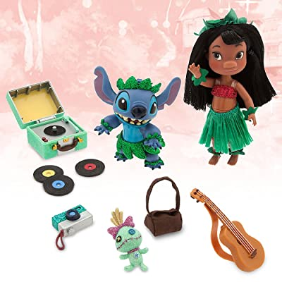 Disney Animators' Collection Lilo & Stitch Mini Doll Play Set - 5 Inch: Toys & Games