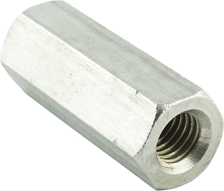 - Gewindemuffen Sechskant Eisenwaren2000 M8 x 40 mm Sechskantmuffe rostfrei 2 St/ück Edelstahl A2 V2A