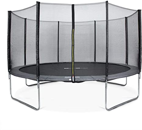 Alice S Garden 14ft Trampoline With Safety Net 3 Colours Pro Quality Eu Standards Amazon Co Uk Sports Outdoors