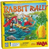 HABA Rabbit Rally - A Challenging and Fun Guessing Game for Ages 4 and Up (Made in Germany)