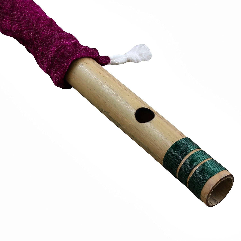 tono A bamb/ú viento Musical indio instrumento 30 CM Principiantes y profesionales flauta Bansuri