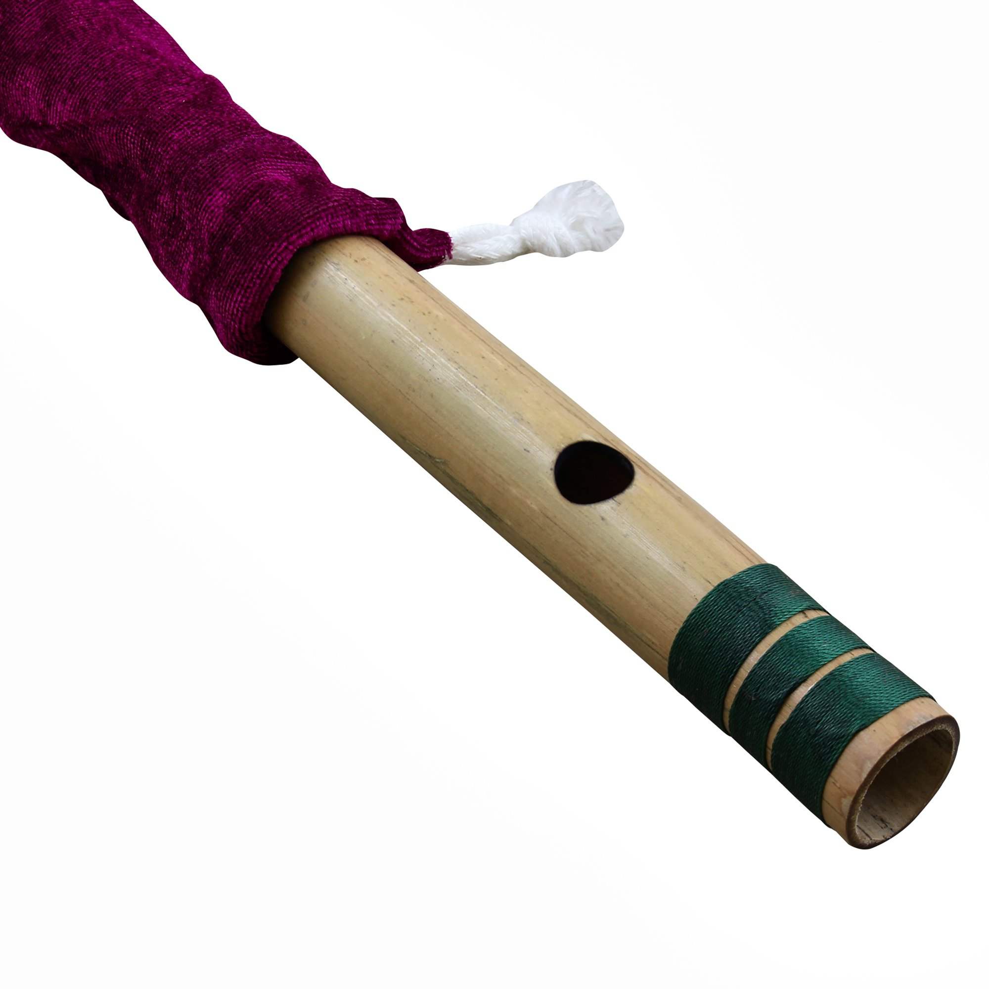 Professional Bamboo Flute Indian Flute C# Tune Wood Wind Music Instrument Length 18 Inch by RoyaltyRoute (Image #3)