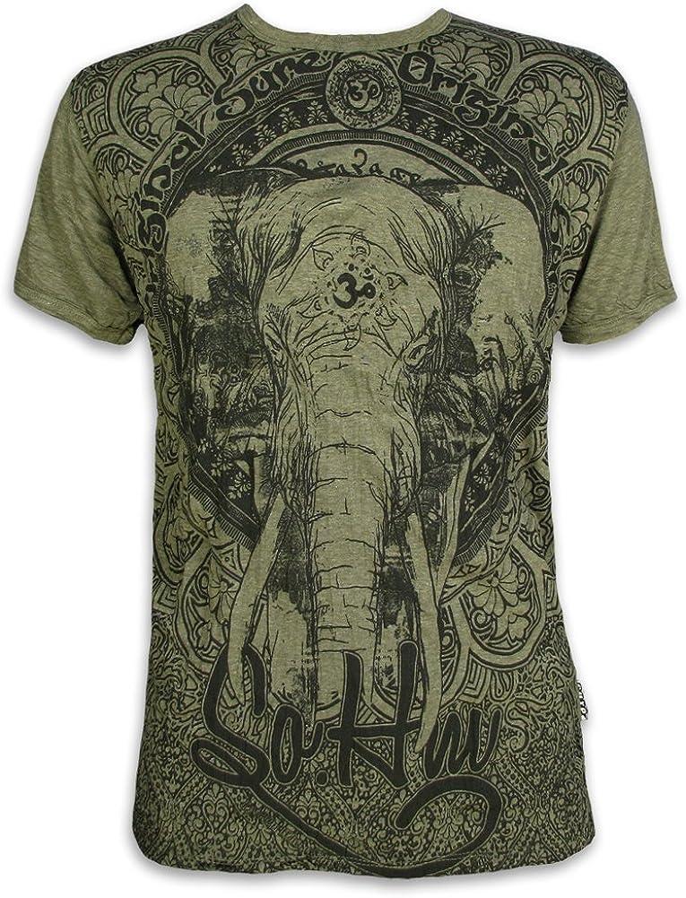 Sure Clothing Om Ganesha Talla M L XL Espíritu Natural Budismo Yoga Boho Hinduismo Namaste Dios Elefante