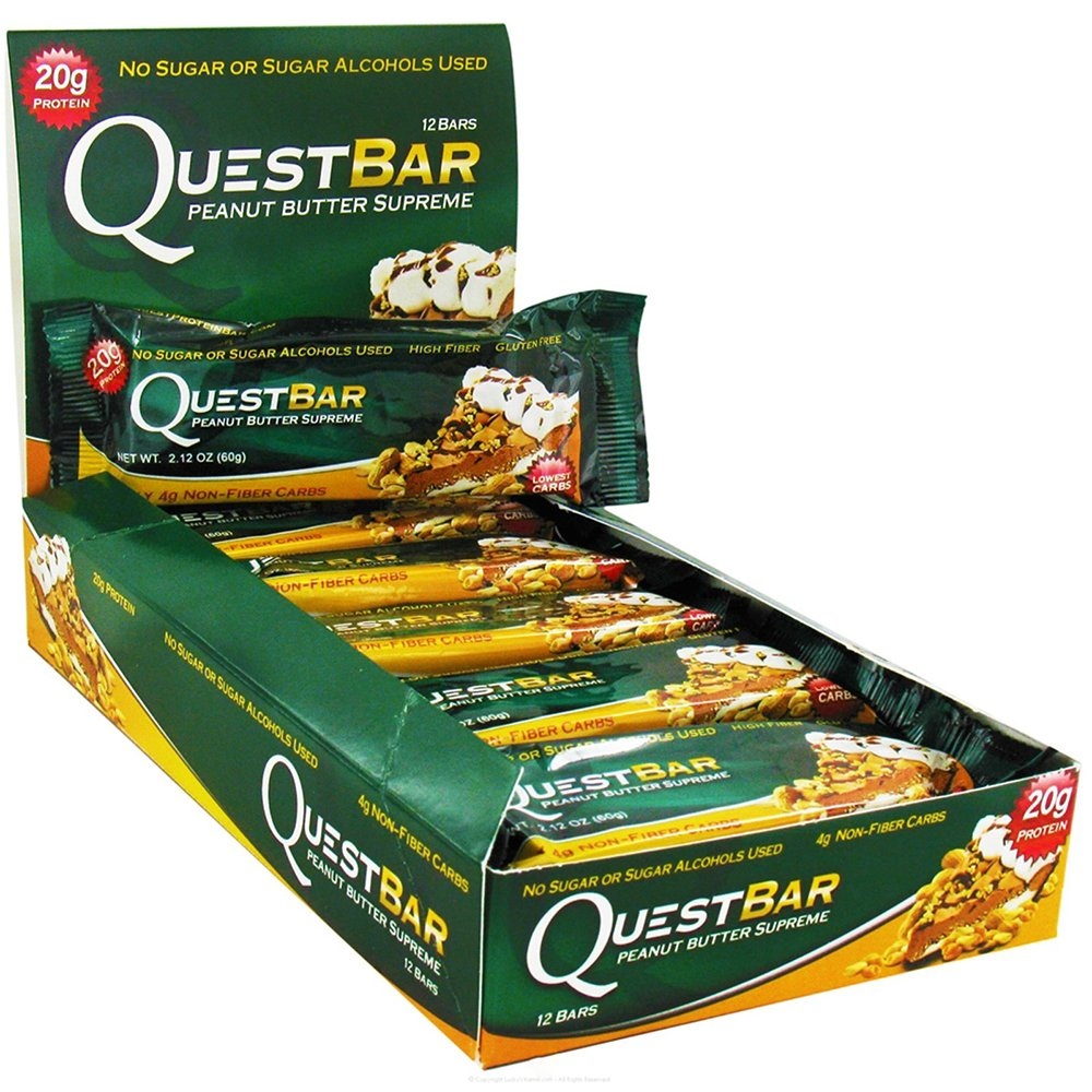 Quest Bars-Peanut Butter Supreme 24 Bars
