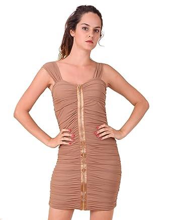 Robes Robe Tu Coquines Zip Devant Femme Miss Avec Moulante sxrhQtdC