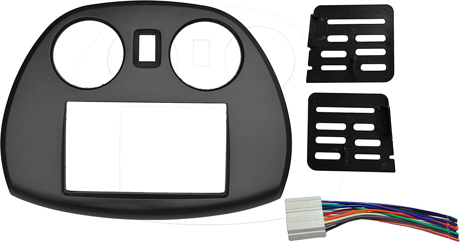 Radio stereo Double 2 Din Dash Install Kit Mount Trim Bezel w/ Wiring on buick enclave wiring harness, hummer h2 wiring harness, chevrolet blazer wiring harness, dodge dakota wiring harness, chevy cobalt wiring harness, dodge journey wiring harness, pontiac sunfire wiring harness, chevy aveo wiring harness, ford e350 wiring harness, honda fit wiring harness, jeep patriot wiring harness, mercury sable wiring harness, kia sportage wiring harness, lexus sc400 wiring harness, ford edge wiring harness, mazda rx7 wiring harness, datsun 510 wiring harness, geo tracker wiring harness, chevy silverado wiring harness,